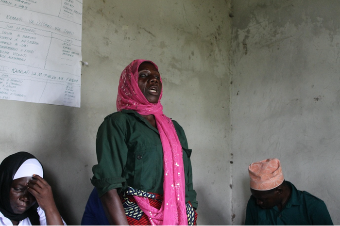 De positie van vrouwen in lokale gemeenschappen bevorderen