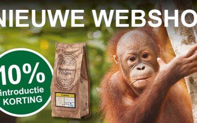 Maak kennis met onze nieuwe webshop!